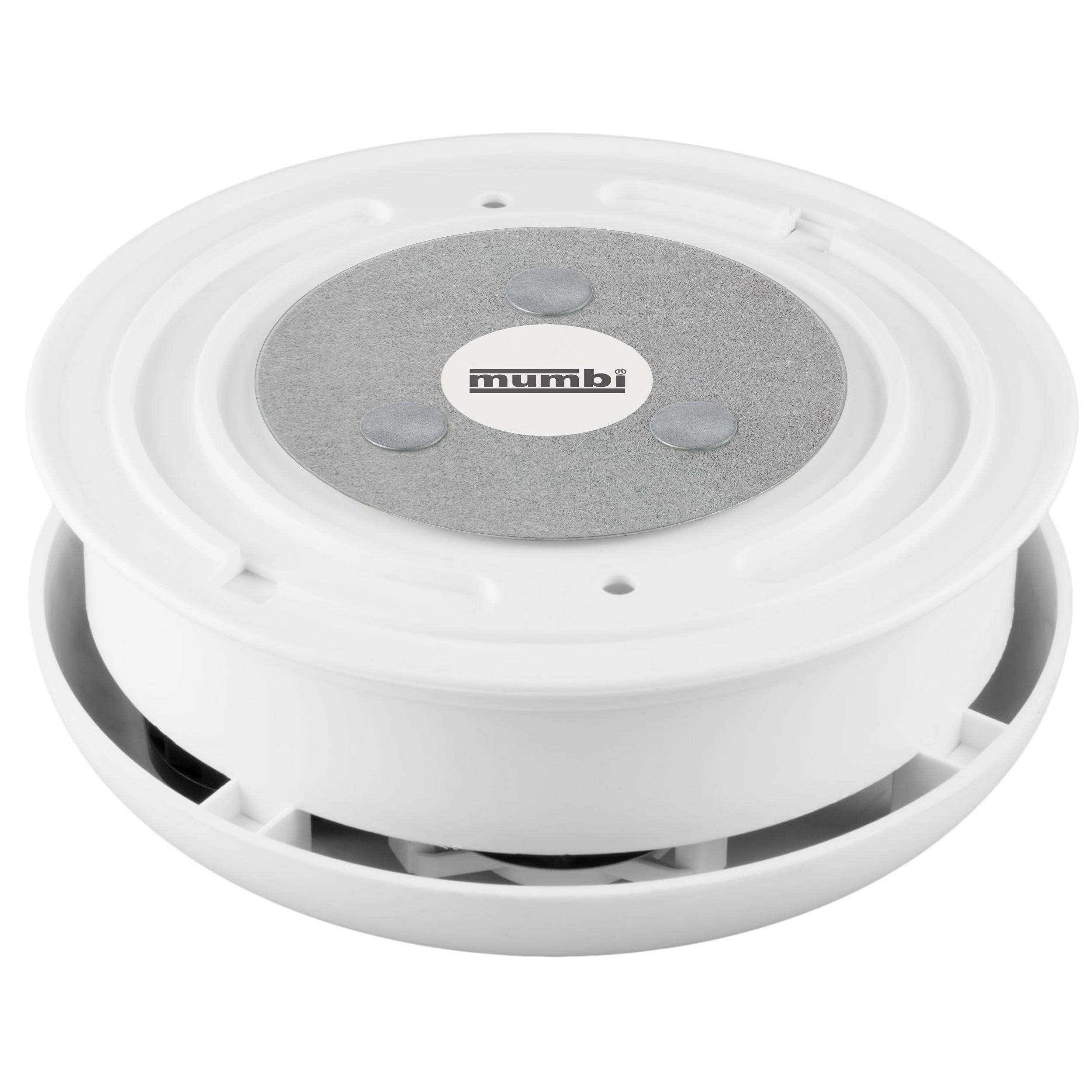 mumbi 2x magnetbefestigung magnethalterung magnet halterung f r rauchmelder ebay. Black Bedroom Furniture Sets. Home Design Ideas