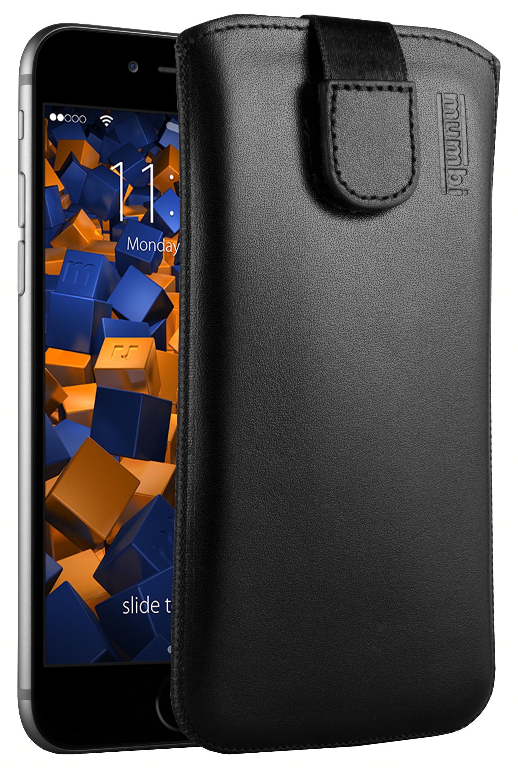 mumbi ledertasche f r apple iphone 6 6s tasche h lle etui. Black Bedroom Furniture Sets. Home Design Ideas