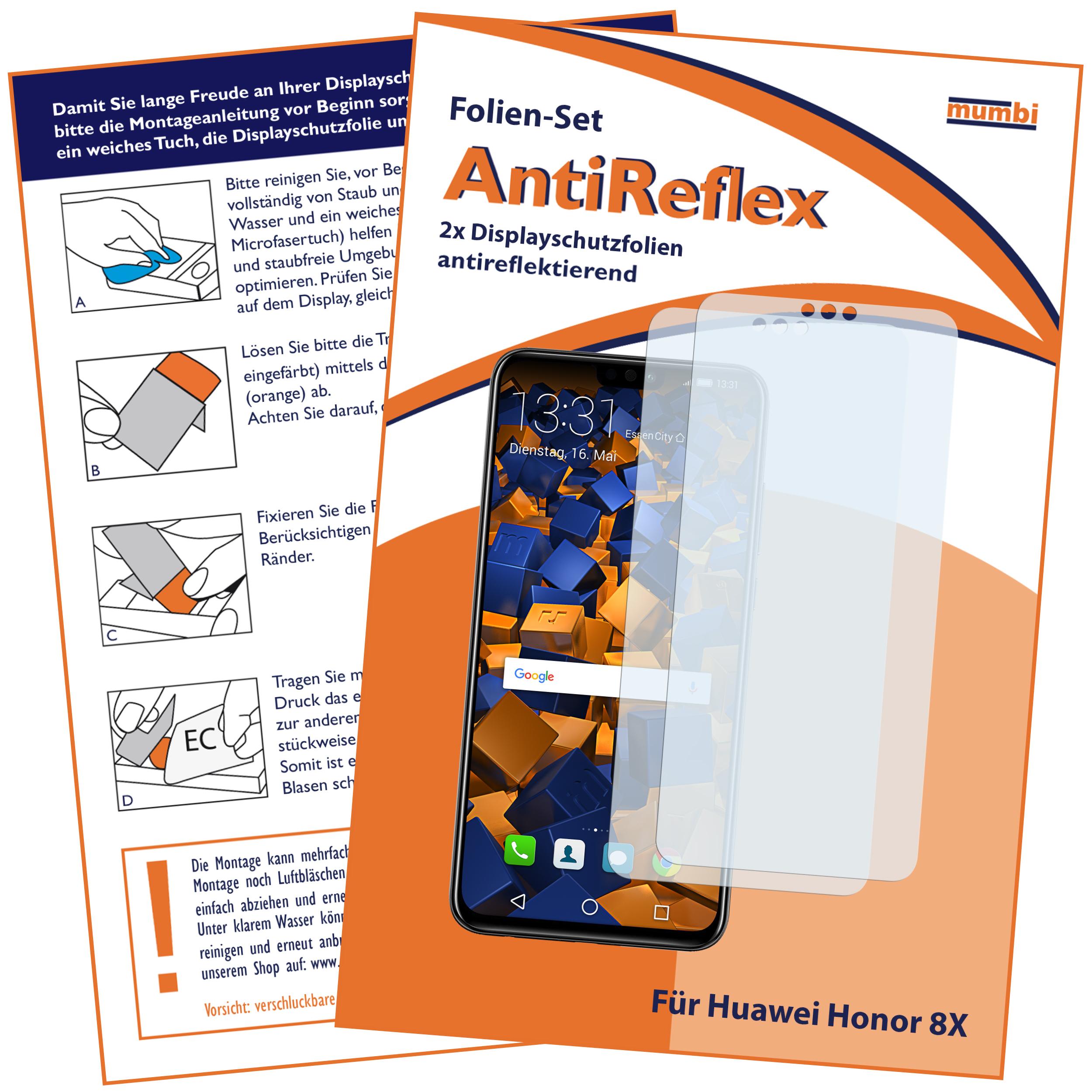 Bildschirmschutzfolien Bruni 2x Folie Für Huawei Honor 8x Max Schutzfolie Displayschutzfolie Tablet & Ebook-zubehör