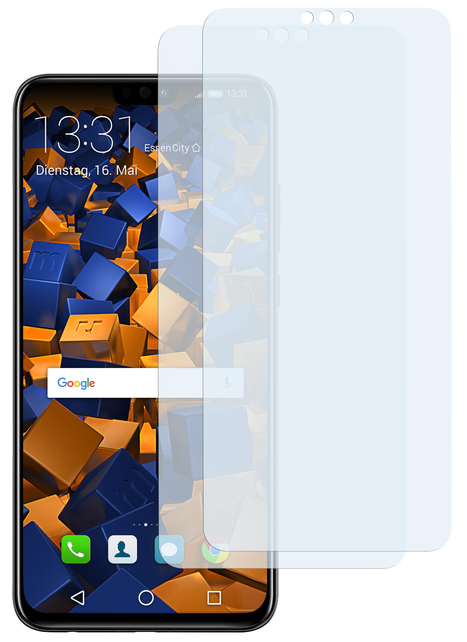 Computer, Tablets & Netzwerk Bruni 2x Folie Für Huawei Honor 8x Max Schutzfolie Displayschutzfolie