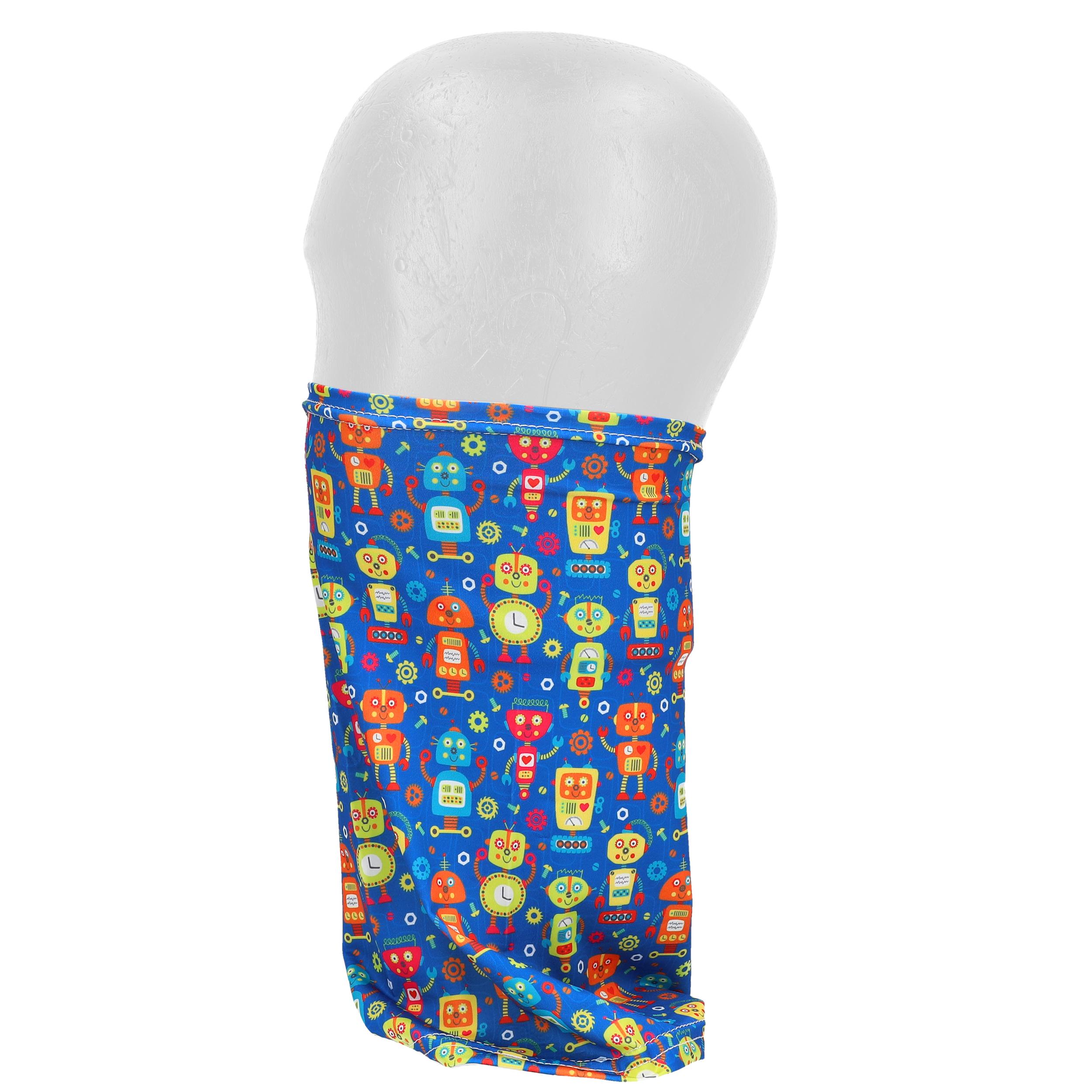 Indexbild 82 - Kinder Schlauchschal Maske Gesichtsmaske Mund Nase Bedeckung Halstuch waschbar