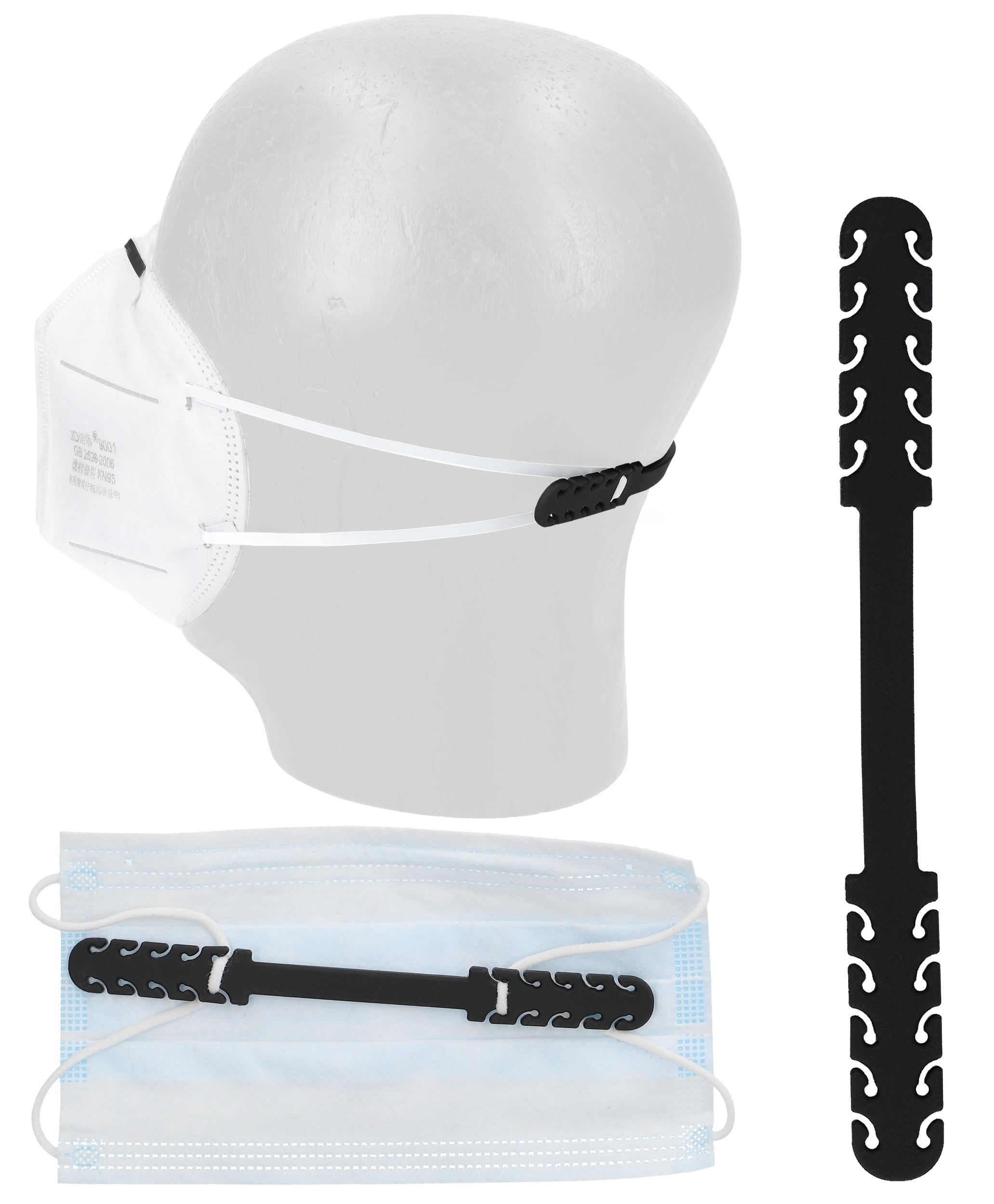 Indexbild 8 - Ohrenschoner Maskenhalter Masken Halter für Mundschutz Behelfsmasken Silikon