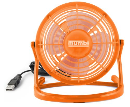 2x USB-Tisch-Ventilator mit Schwenkkopf Tischventilator Cooler Desktop Fan Venti